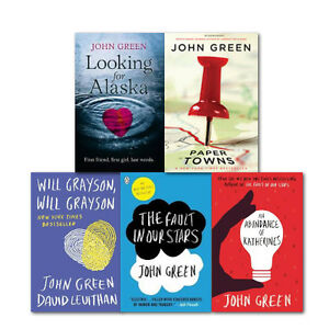 John-Green-Literature-5-Books-Collection-Set-Fault-in-Our-Stars-Paper-Towns-New