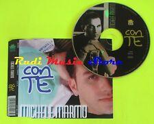 CD Singolo MICHELE MARMO Con te 1997 Italy TRO TRO   mc dvd (S11)