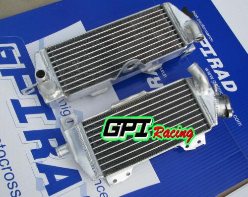 aluminum radiator FOR Kawasaki KDX200//KDX220 KDX 200 KDX 220 1997-2006