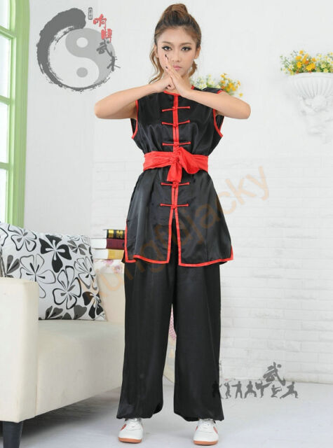 Chinese Traditional Kung Fu Tai Chi Uniforms Hung Kuen Clothing Chang Quan Suits