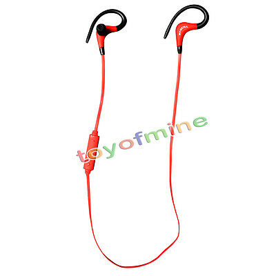 Wireless Bluetooth 4.1 Headset Sport Stereo Earphone Headphone for Phone Samsung