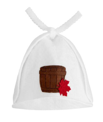 Sauna Casquette saunahut Capuchon Chapeau Bonnet pour sauna Banja schapka sauna Capuchon Chapeau