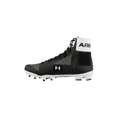 White-Pick Size New Mens UA Under Armour Renegade MC Football Cleats Black