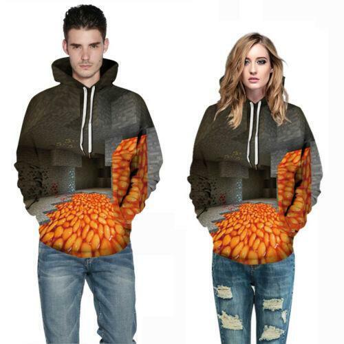 3D Print Hommes Femmes à Capuche Sweat à Capuche Pull Sweat Pull graphique Tops Manteau