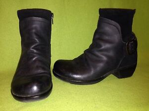 Black-Leather-amp-Suede-Fly-London-Zip-Up-Ankle-Boots-6