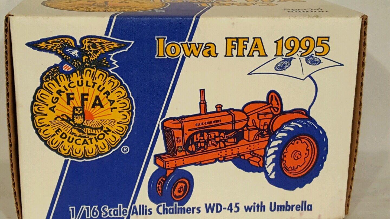 ERTL ALLIS CHALMERS WD-45 avec parapluie 1 16 diecast farm tractor Replica Collectib
