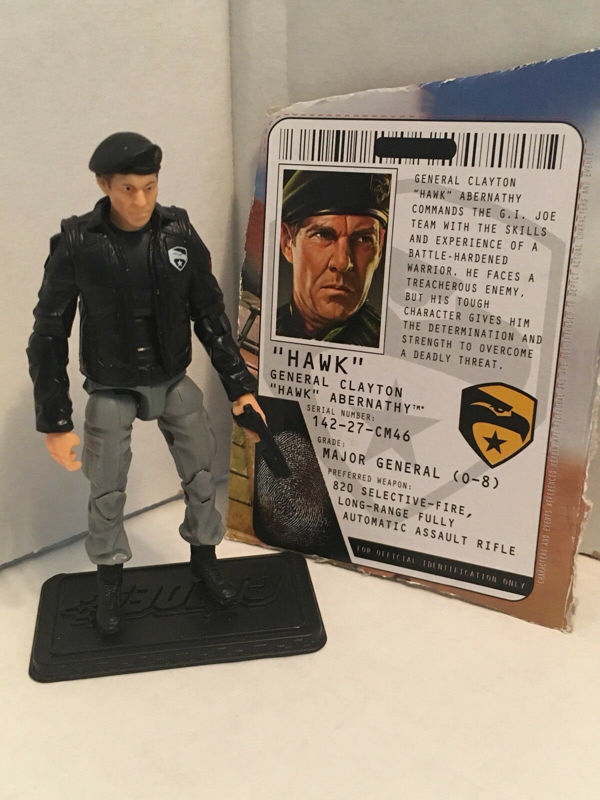 2009 Gi Joe ROC General Hawk v3 PIT Mobile Headquarters conducteur  Rise of Cobra
