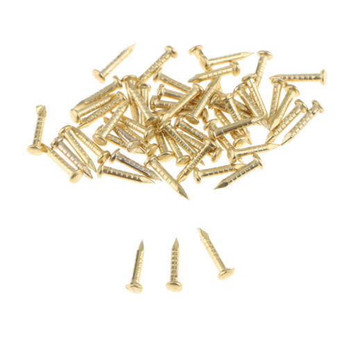 12Pcs 180 ° Mini Petites Charnières bijoux boîte à cigares Miniature Dollhouse charnière