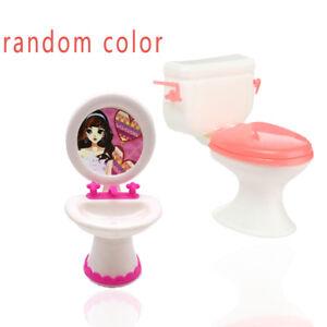 Image Is Loading Mini Bathroom Toilet Amp Wash Basin Set For