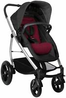Phil&teds Smart Lux Stroller In Ruby Color Brand 21 Riding Positions