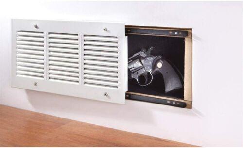 Concealed Hidden Wall Safe Air Vent Grille Gun Jewelry Money Secret Storage Box
