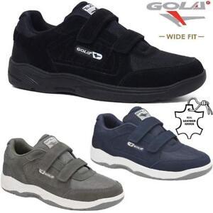 Para-hombres-Calce-Ancho-Gola-Informal-Cuero-pasear-Running-Gimnasio-Entrenadores-Conduccion-Zapatos