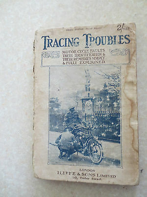 Vintage 1918 motorcycle book for BSA Norton Triumph Ariel Douglas Royal Enfield