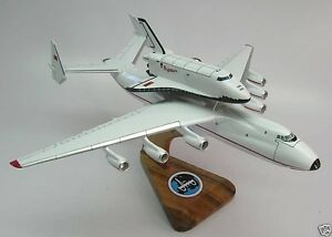 AN-225 Antonov Piggyback Space Shuttle Buran Airplane Wood ...
