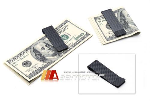100/% DRY Pre-Preg Matte Finished Carbon Fiber Money Bill Currency Clip Holder