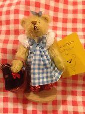 DEB Canham Limited Edition Dorothy Mago di Oz BEAR RARE Ruby Pantofole in Scatola