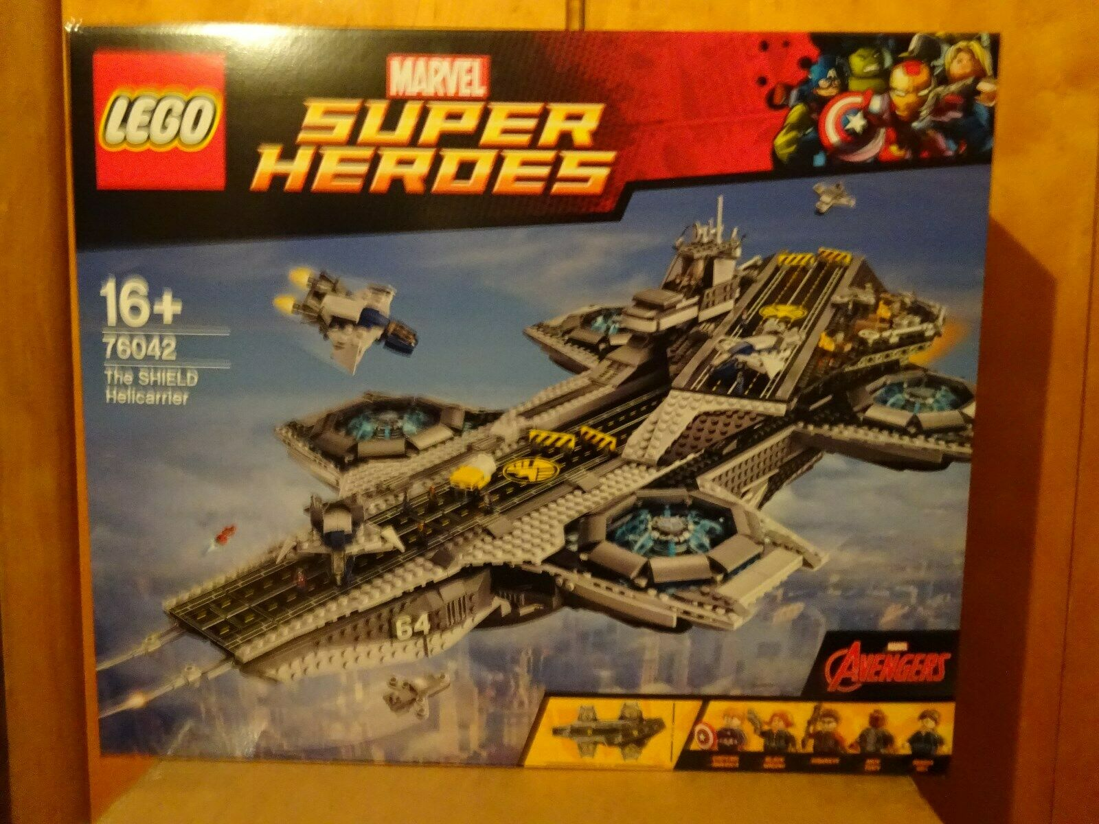 LEGO® 76042 - Marvel - The Shield Hellicarrier - NEU - OVP