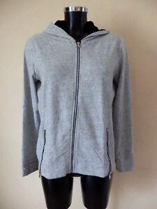 End To The Authentic Kooples Grey Vest L Hoodie Sport T vwB6q