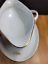 thumbnail 8 - Rosenthal Modell Gravy Boat with Attached Underplate R1817 White Pink Flowers