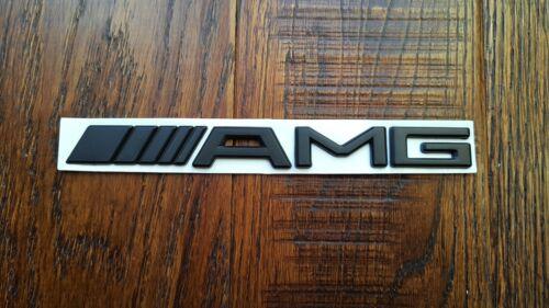 Mercedes AMG BLACK Sticker Badge Emblem Best Quality UK Stock