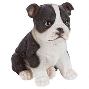 Boston-Terrier-Puppy-Partner-Design-Toscano-Collectible-Dog-Statue