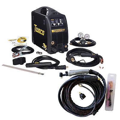 Tweco Fabricator 181i MIG, TIG & Stick Welder pkg. w/TIG Torch W1003181/W4013802