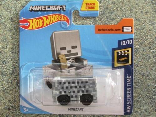 Spielzeugautos Hot Wheels 2019 #025/250 Minecart Grau @ B