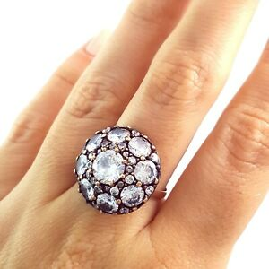 Turkish Ladies Ring Antique Handmade Jewellery Gift For Her 925 Silver 1694