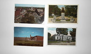 LOT-OF-4-WATERTOWN-NY-NEW-YORK-POSTCARDS