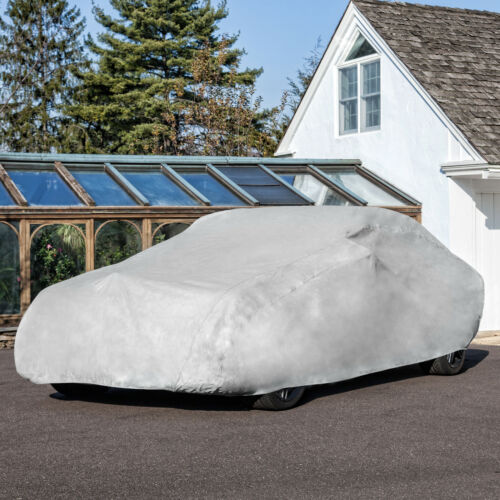 WaterproofBreathable Budge Rain Barrier Car Cover Fits Sedans up to 22/' Long