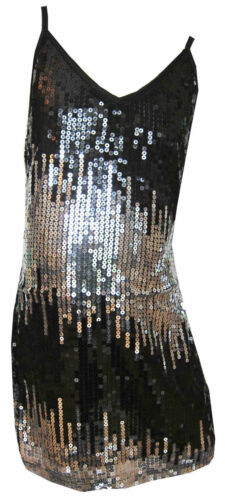 Girls Sequin Dress With Straps Great for Casual or Party/'s Ages 3Y-12 Years