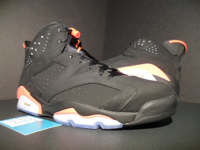 Nike Air Jordan VI 6 Retro Black Infrared 2014 RARE DS Size 10.5 3m for  sale online  23cb049c3