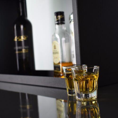 Jim Beam Drinks Cabinet Shelf Grants Haig Famous Grouse Bells Jack Daniels