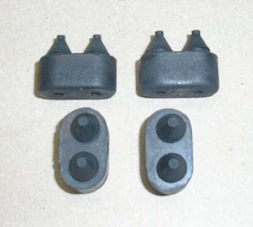 1972 Chevy El Camino Rubber Door Bumpers Or Stops