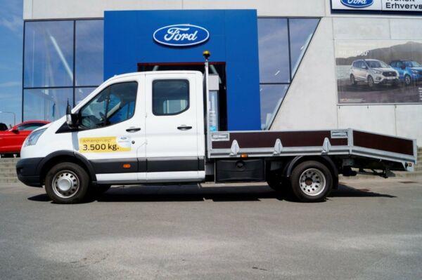 Ford Transit 350 L4 Chassis 2,0 TDCi 170 Db.Cab Trend RWD - billede 3