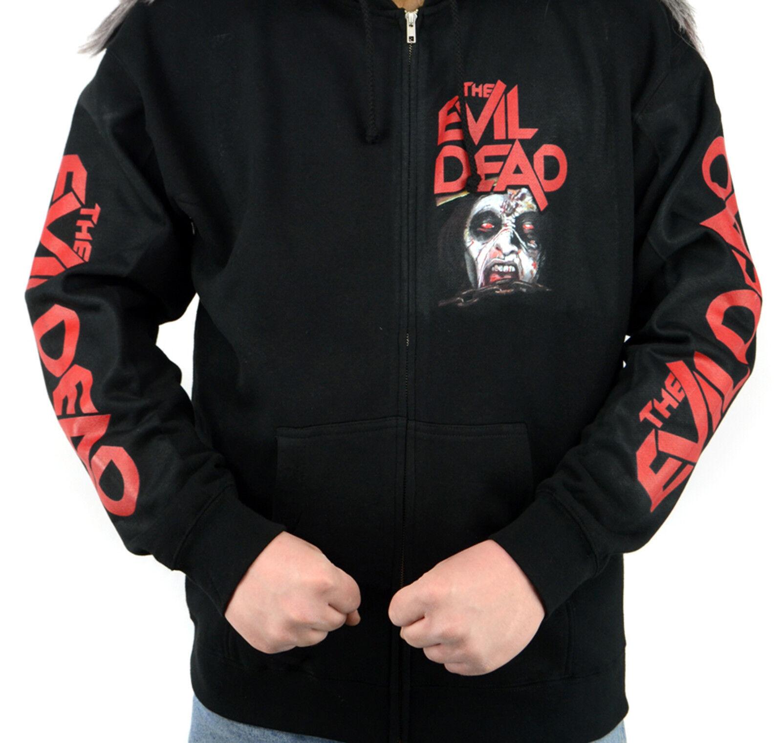 The Evil Dead 1981 Film Zipper Sweatshirt