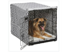 """Midwest Homes for Pets Midwest Quiet Time Crate Cover Black Polyester 36"""" x 23.5"""" x 24"""""""