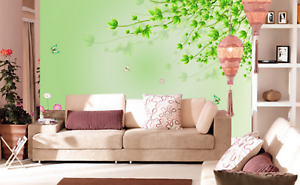 3D Leaf Tree 6796 Wallpaper Murals Wall Print Wallpaper Mural AJ WALL UK Kyra