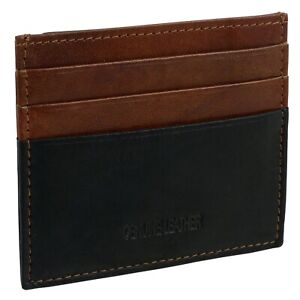Black-amp-Brown-Leather-Credit-Card-Holder-by-Oakridge