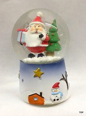Weihnachten Sankt Schneemann Glas Rahmen Deko Neuheit Kinder Geschenk