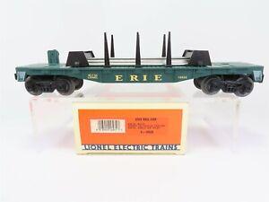 O-3-Rail-Lionel-6-16932-ERIE-Flatcar-w-Rail-Load-16932-RTR
