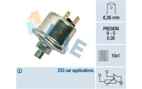 FAE Sensor presión de aceite 14740