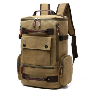 683dd0eeeba0 Large Capacity Fashion Men s Racksack Bag Men Canvas Backpack Casual ...