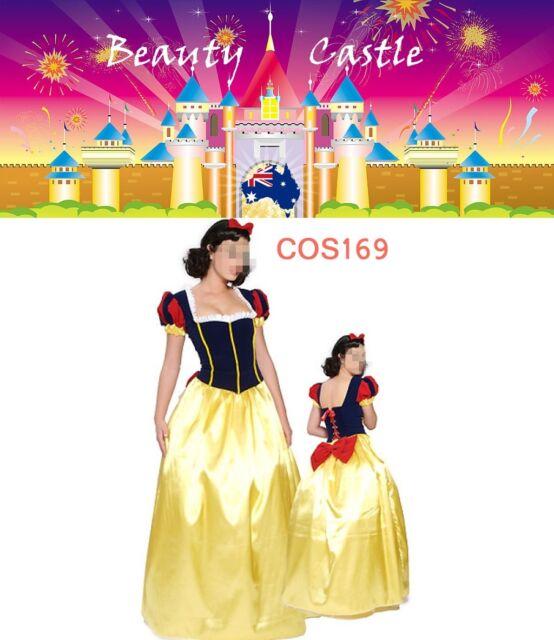 COS169 Adult Snow White Deluxe Disney Princess Fairy Tale Fancy Dress Costume