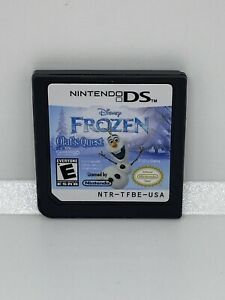 Frozen-Olaf-039-s-Quest-Game-Only-Nintendo-DS-Disney-Cartridge-Only