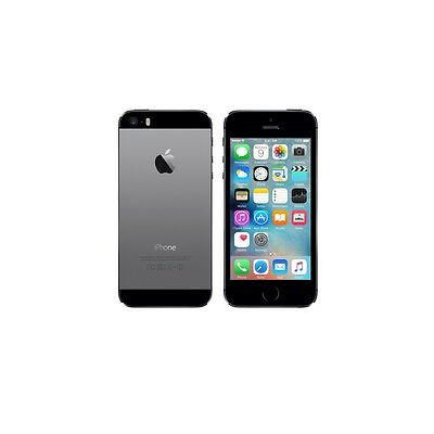 Apple iPhone 5S-Space Gray-16GB 4G Factory Unlocked Mobile Phone Smartphone