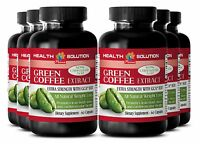 Reduces Fat Gain - Green Coffee Extract Gca 800mg - Slimming Green Coffee 6b
