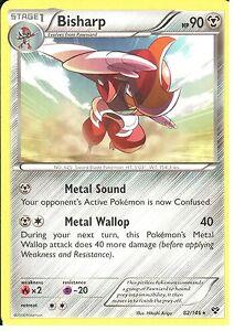 82//146 Rare Pokemon XY Base Set M//NM English x4 Bisharp