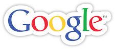Google adesivo adesivi etichetta sticker decal 15cm x 6cm