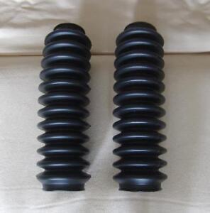 Honda-ATC-Big-Red-250ES-85-86-87-Front-Fork-Shock-Boots-Black